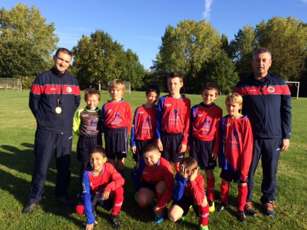 U11 Equipe 3 - Union Sportive Illet Forêt